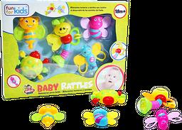 Set Sonajeros para bebé por 5 Piezas Fun For Kids Multicolor