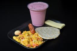 🍳☕ Desayuno Panameño