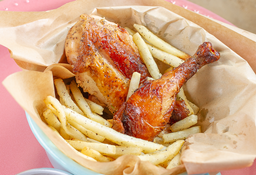 🍗1/4 Pollo para Niños👦👧
