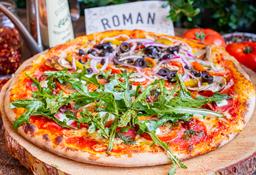 Pizza por Mitades