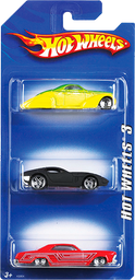 Hot Wheels Carro Basico X3