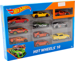 Hot Wheels Paquete De 10