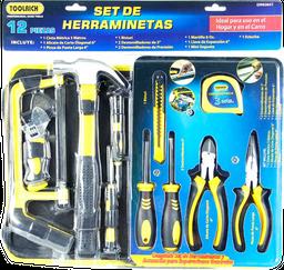 Kit de herramientas 12 piezas