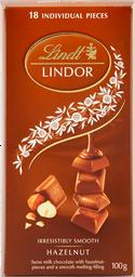 Chocolate Lindt Lindor Hazelnut 100gr