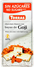 Tableta de Chocolate Sin Azúcares 75gr