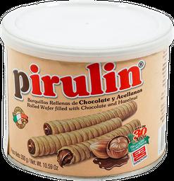 Barquillo de Chocolate y Avellana Pirulin 300gr