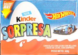 Huevo Kinder Sorpresa Niño 40gr