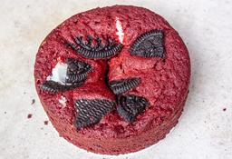 Torta Red Velvet con Oreo Pequeña