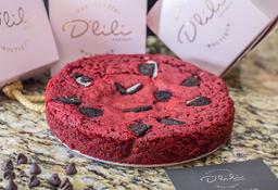 Torta Red Velvet con Oreo Mediana
