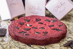 Torta Red Velvet y Oreo
