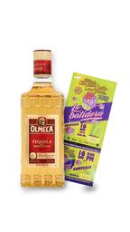 Tequila Olmeca + 2 Boletas para Suelta como Gabete gratis
