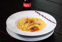 🍜 Pasta + Té Hatsu 🥤