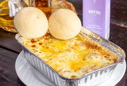 🥧 Lasagna + Té Hastsu 🥤