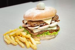 🍔 Hamburguesa Doble Carne Especial