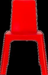 Silla Auxiliar Julieta Kids 37.5*40*58 Plastico Rojo