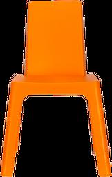 Silla Auxiliar Julieta Kids 37.5*40*58 Plastico Naranja