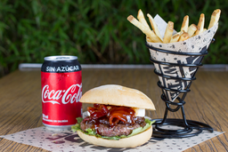 Combo Hamburguesa Sailor Jerry + Coca-Cola