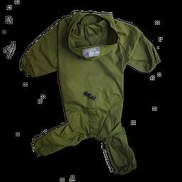 Impermeable 4 patas verde militar