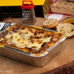 Combo Home Alone: Lasagna + Bebida + Brownie