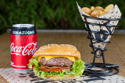 Combo Cheese Burger con Coca Cola