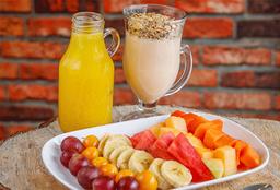 Desayuno Combo   Saludable -Frutas- Cereal