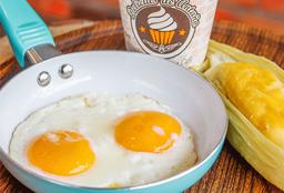 Desayuno Combo  Envuelto de Maiz