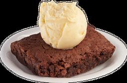 Brownie Con Gelato