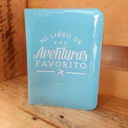 Funda pasaporte mi libro de aventuras favorito