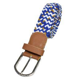 Cinturón Azul/Blanco