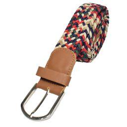 Cinturón Beige Multicolor