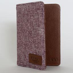 Porta pasaporte uva