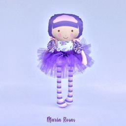 Muñeca Pequeña Maria Rosas.