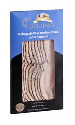 Pechuga De Pavo Condimentada Como Pastrami