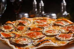 Pizza Melanzane Parmigiana Berenjenas