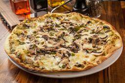 Pizza Pesto E Funghi