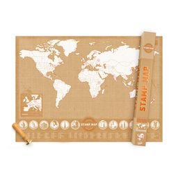 Mapa Stamp Map