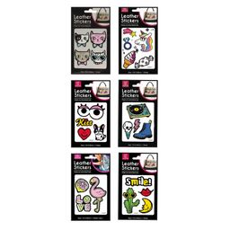 Parches Like Leather Stickers Set