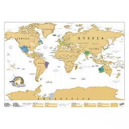 "Mapa ""scratch map original edition"""
