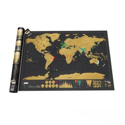 Mapa Scratch Map Deluxe Edition