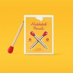 Esferos Matchstick Pencils