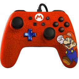 Control Nintendo Switch Alambrico ED. Super Mario