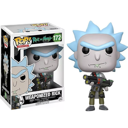 Funko Pop Weaponized Rick (172) - Rick And Morty