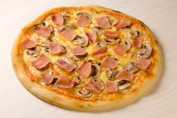 Pizza Jamón y Champiñones