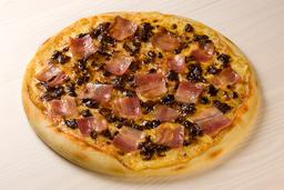 Pizza Ciruela Tocineta