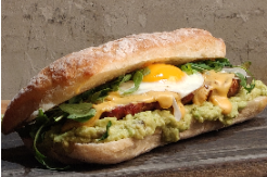🥪Sausage and Egg Sándwich