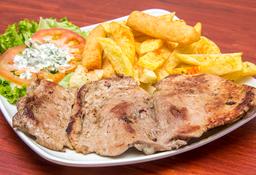 🐷 Bandeja con Lomo de Cerdo 150 gr