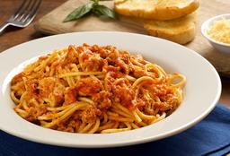 Spaguetti Bolognesa Pollo