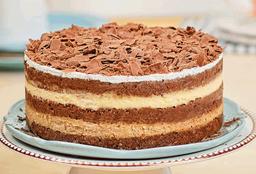 🍰Postre Chocolate y Café (Mediano 10 a 12 porciones)