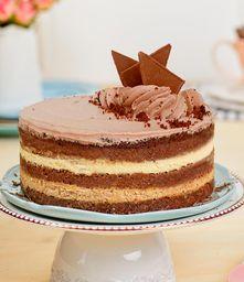 Postre Chocolate y Café (Mediano 15 a 18 porciones)