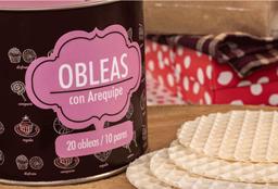 🥧 Obleas con Arequipe